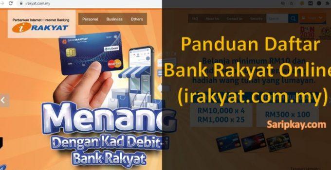 Panduan Daftar Bank Rakyat Online (irakyat.com.my)